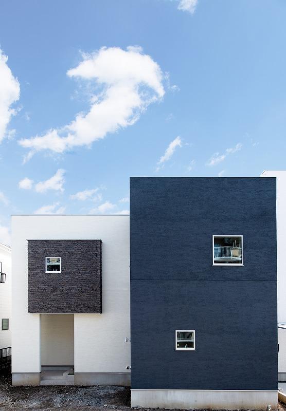 おしゃれでデザイン性の高いお家。